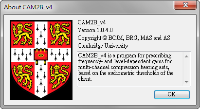 CAM2B_v4 Version 1.0.4.0